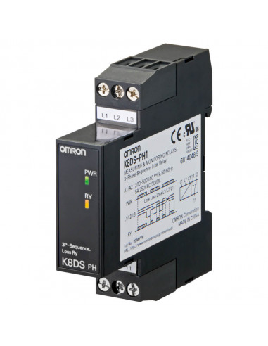 Omron K8DS-PH1 3 Phase Monitoring Relay