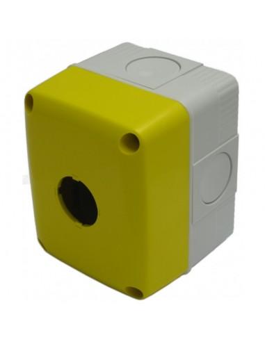 Gewiss GW27111 yellow one hole box