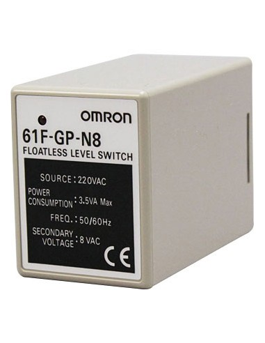 Omron 61F-GP-N8 Floatless Level Switch