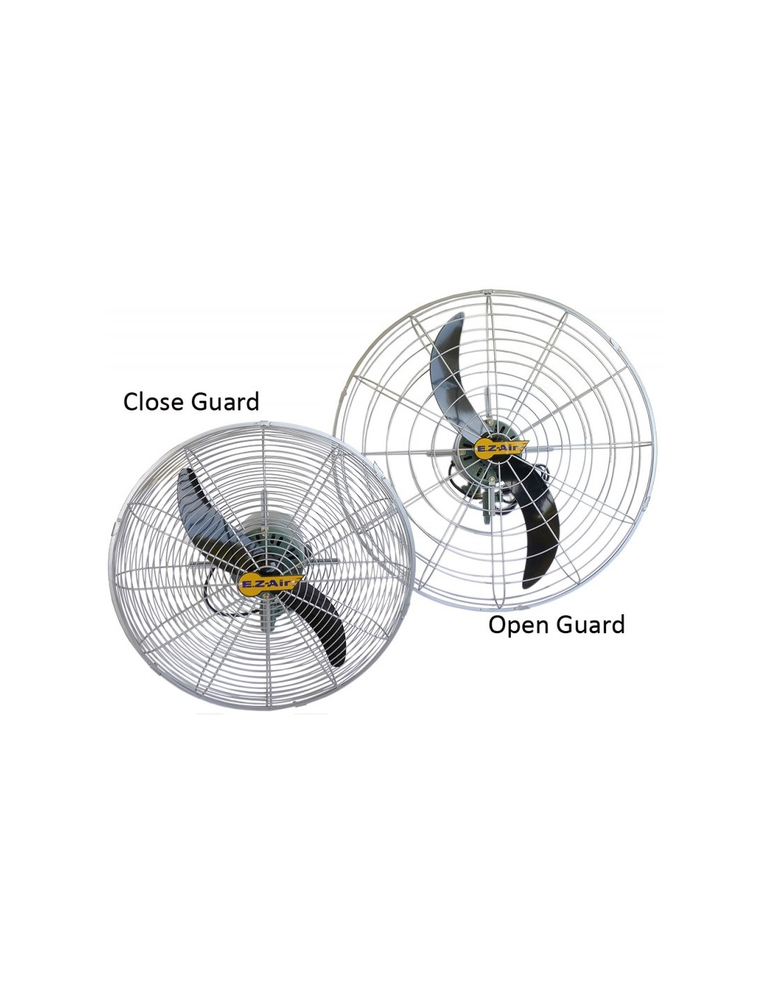 Ez Air Sp3 Industrial Stand Wall Fan