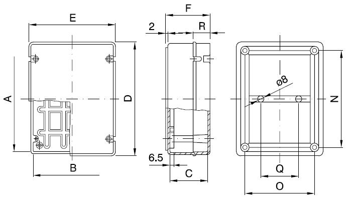 44CE plain 2 dimensions