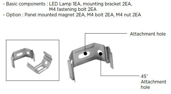 KPL-L mounting bracket