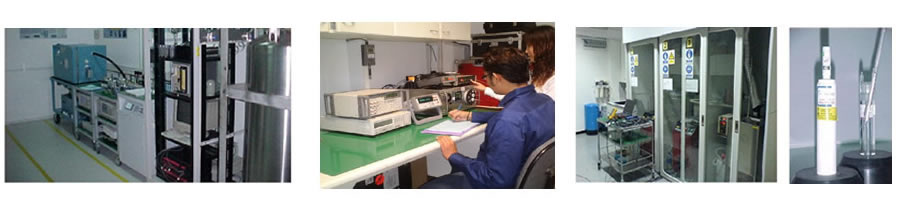 Accredited calibration lab