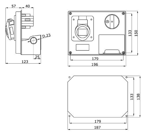 GW66301 dimensions
